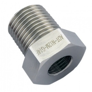 Threading Adapter, NPT 1/2 Male to G 1/4 Female [ADT-N12M-G14F]